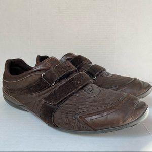 FREE W/ PURCHASE Hugo Boss Velcro Suede Sneakers